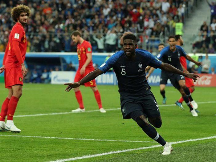 Francia primer finalista de Rusia 2018