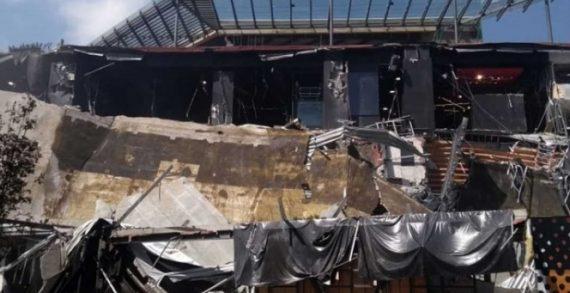 Derrumbe de Centro Comercial en CDMX