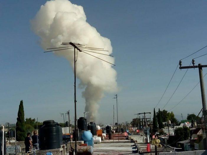 Nueva explosión en Tultepec deja al menos 16 muertos