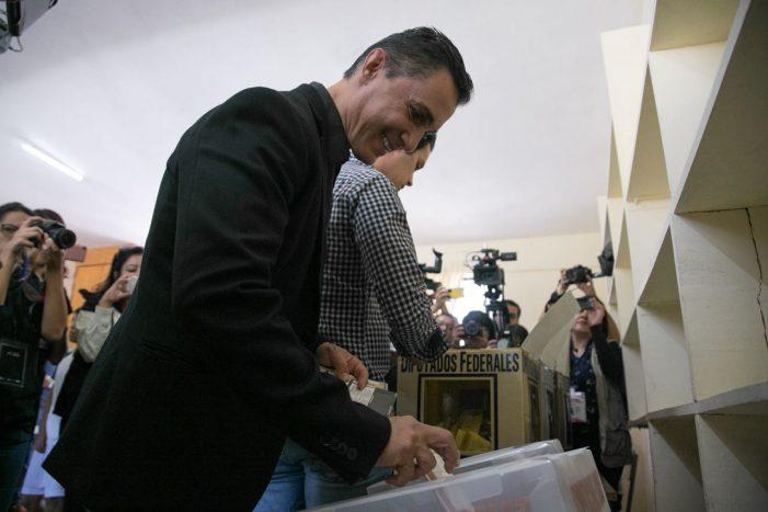 Adolfo Ríos confía en alta participación electoral