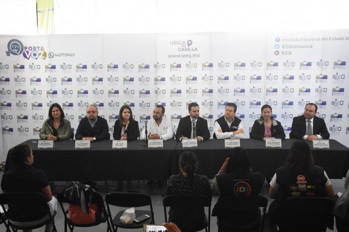 Luis Nava y Adolfo Ríos hasta el final por la presidencia municipal de Querétaro