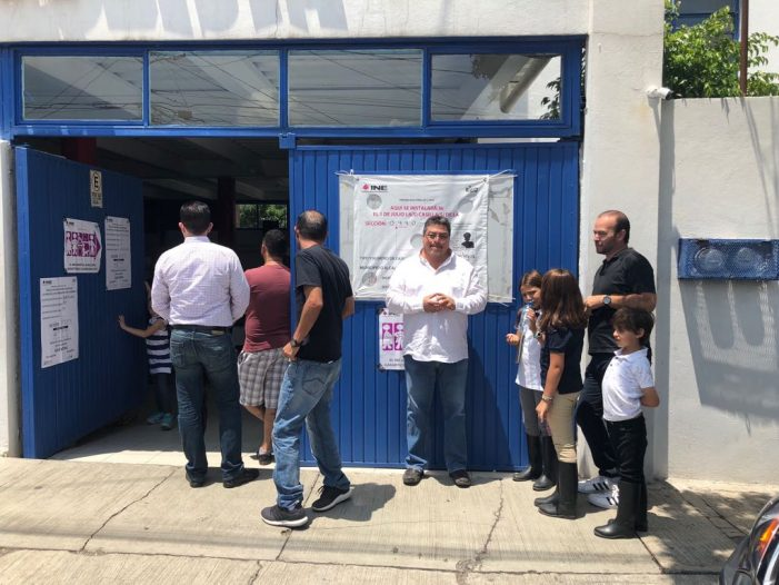 Jornada electoral tranquila en Querétaro