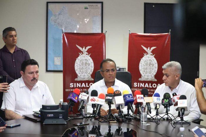 Reducir índices delictivos en Sinaloa, la prioridad: SSP