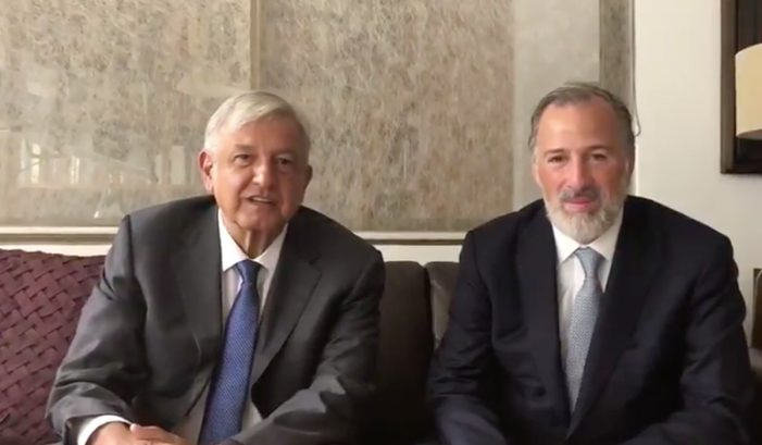 Meade es una persona honorable: AMLO