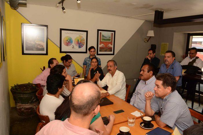 Sinaloa | JEF se reúne con comunidad artística