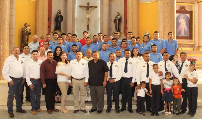 Sinaloa | Bomberos de Navolato reconoce a elementos