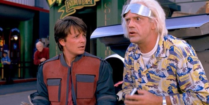 """Se vuelven a encontrar en el tiempo los actores de """"Volver al Futuro"""""""