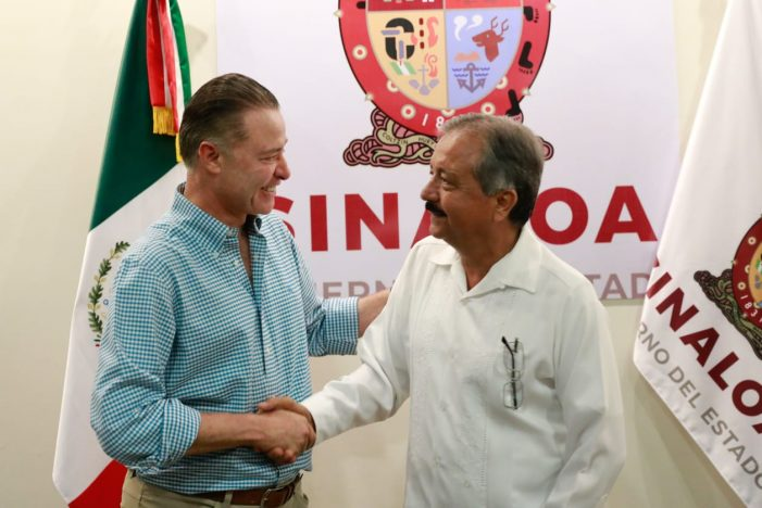 Sinaloa | Gobernador se reúne con Jesús Estrada Ferreiro