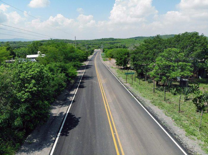 Sinaloa | Construyen la carretera Loma de Rodriguera-La Pitayita