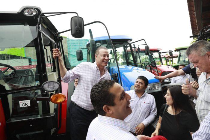 Sinaloa | Dan apoyos a agricultores y ganaderos por 260 mdp