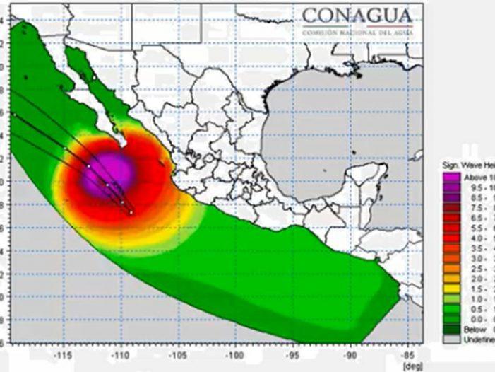 Sinaloa | John no representa peligro para Sinaloa: PC