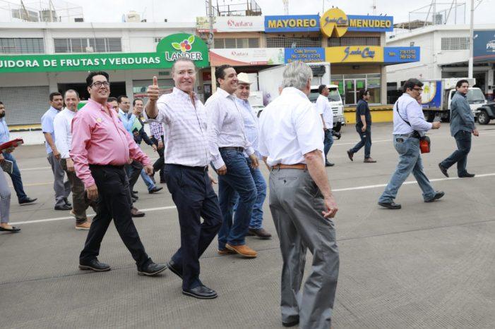 Inauguran calle principal del Mercado de Abastos de Culiacán