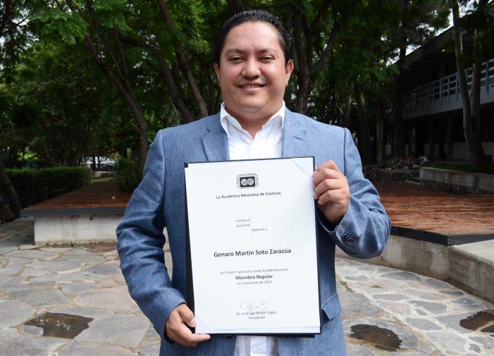 Docente de la UAQ ingresa a la Academia Mexicana de Ciencias