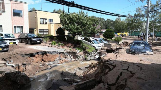 Japón| Terremotos arrasan en la isla Hokkaido