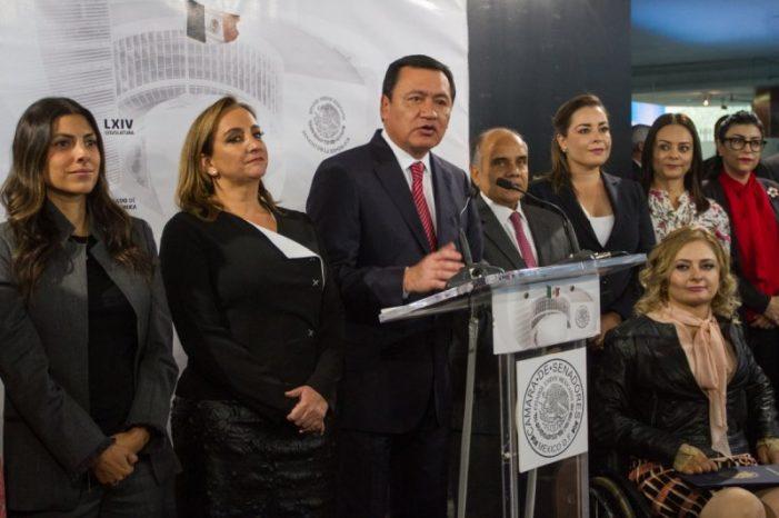 Senador Osorio Chong confía en la integridad de Rosario Robles Berlanga