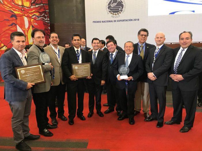 Dos empresas sinaloenses ganan el Premio Nacional de Exportación