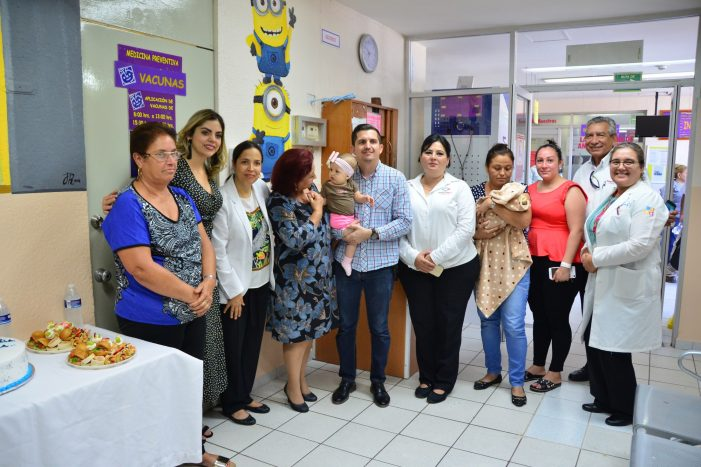 Donan equipo al Hospital Pediátrico de Sinaloa