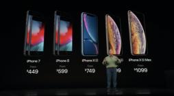Nuevos costos del iPhone Xs