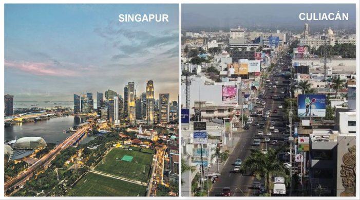 Culiacán podría replicar modelo de Singapur