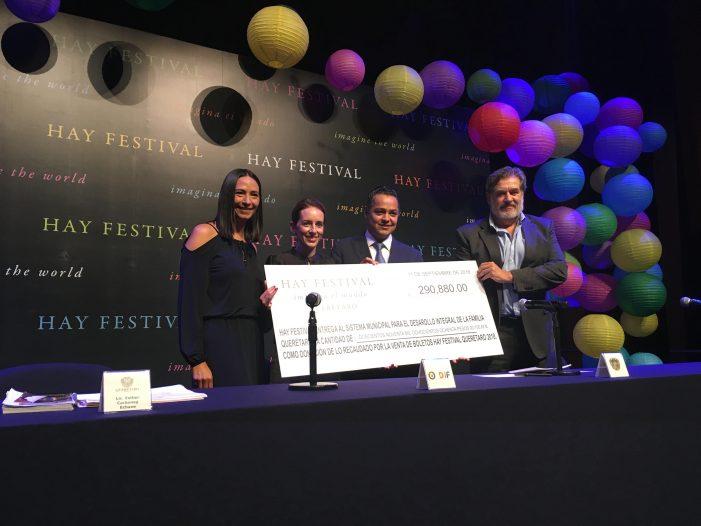 Hay Festival quiere continuar en Querétaro 30 o 40 años más: Oscar Montes