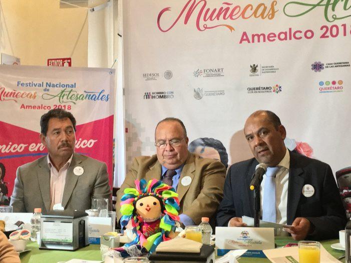 Ya viene el Festival Nacional de Muñecas Artesanales de Amealco
