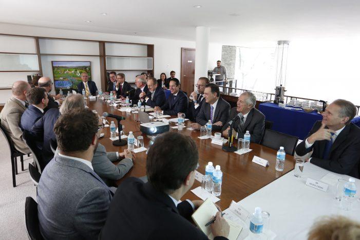 FDS se reúne con Embajadores de la Unión Europea