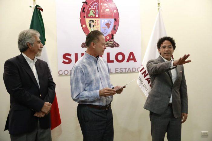 Sinaloa | Relevo en Sepyc; Mejía entra por Villa Rivera