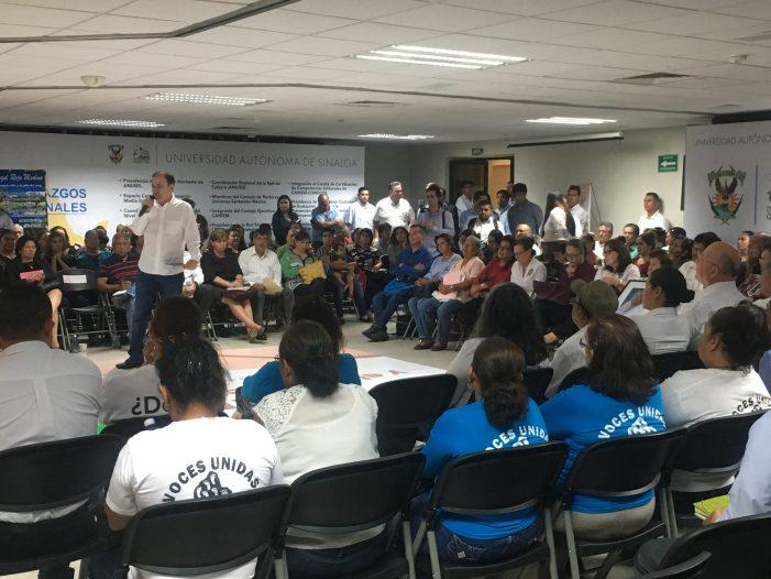 Sinaloa | Con éxito realizan Foro por la Paz en la UAS