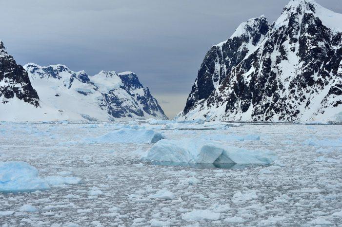 Escucha como suena la Antártida