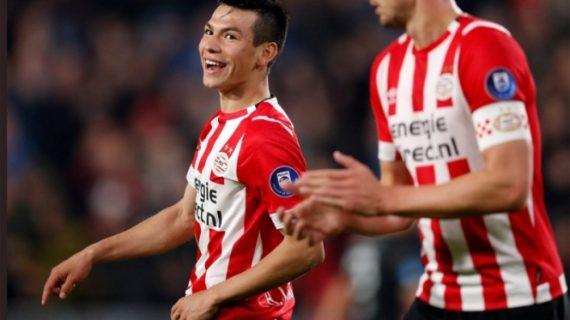 PSV festeja con un video los primeros 25 goles del 'Chucky' en la Eredivisie
