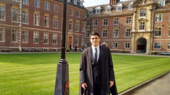 Premian a mexicano becado por CONACYT, por mejor tesis doctoral en Cambridge