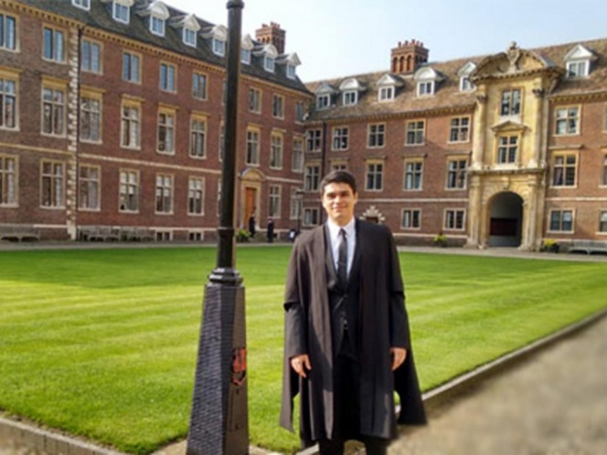 Premian a mexicano becado por CONACYT, por mejor tesis doctoral en Cambridge