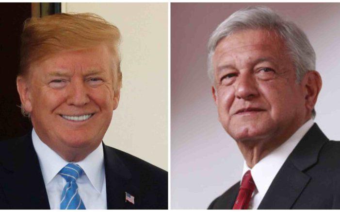 ¡Vamos a trabajar bien juntos!, dijo Trump tras conversación telefónica con AMLO