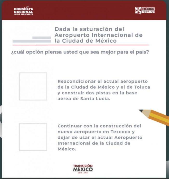 Querétaro contará con 15 mesas de votación en cuatro municipios para la consulta nacional sobre el NAIM