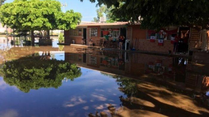 Suspenden clases en Culiacán por lluvias