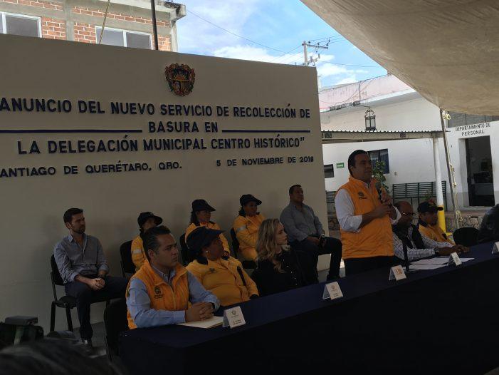 Recolección de basura será diaria en el Centro Histórico: Luis Nava