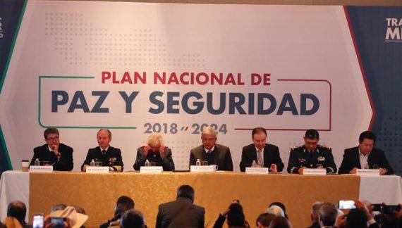 Los ocho puntos clave del Plan Nacional de Paz y Seguridad de AMLO