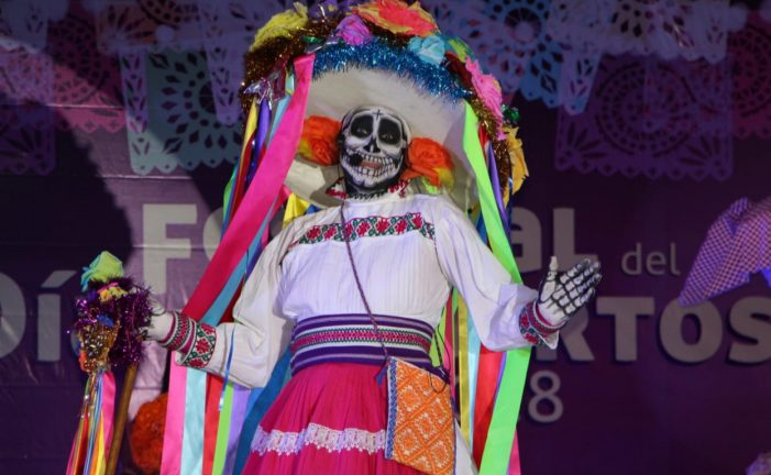 Más de 23 mil personas acudieron al Festival de Día de Muertos en Querétaro