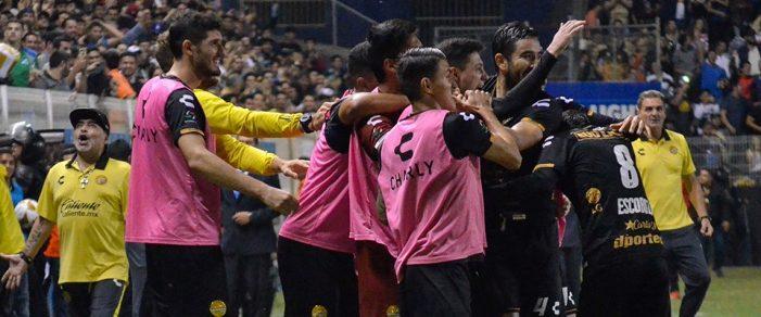 Dorados derrota 1-0 al San Luis en la Final de 'ida' del Ascenso MX