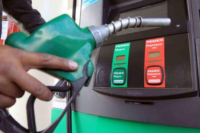 Hacienda elimina subsidio a gasolina
