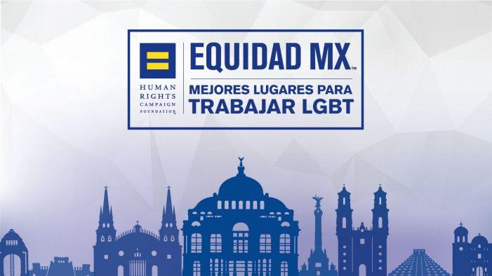 """Obtienen el certificado """"Mejor lugar para trabajar LGBT"""" 69 empresas en México"""