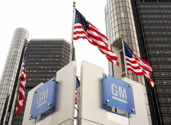 General Motors anuncia cierre de 4 plantas en Norteamérica