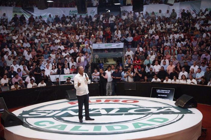 Presenta Quirino Ordaz Coppel su segundo informe a los sinaloenses
