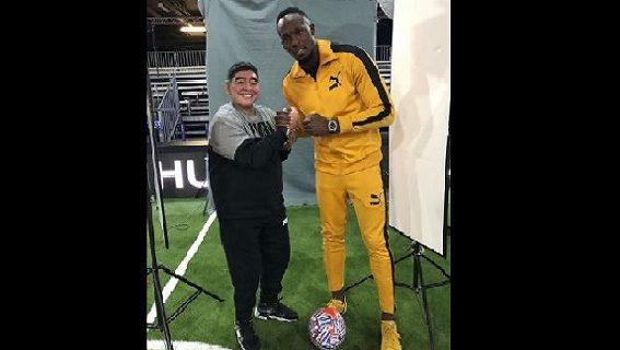 ¿Usain Bolt en Culiacán?