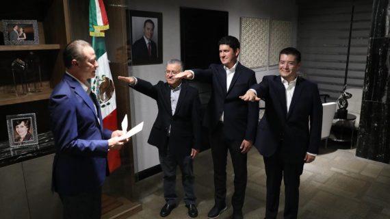 Hay nuevos secretarios de SEDESOL, SAyG y SEDESU en Sinaloa