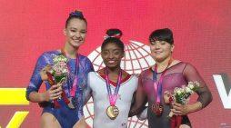 Alexa Moreno gana medalla de gimnasia en Campeonato del Mundo