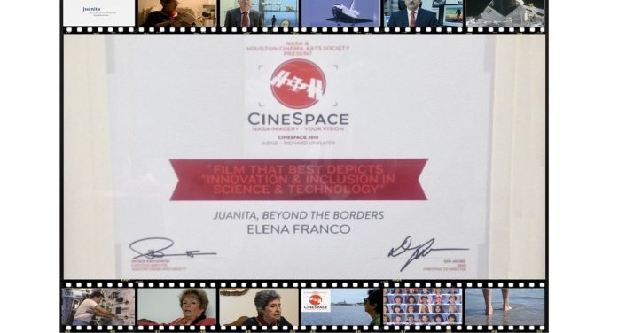 Cortometraje de cineasta mexicana gana concurso internacional Cinespace 2018 de la NASA