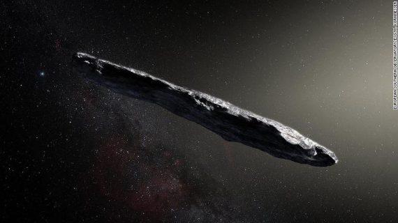 El objeto espacial que podría haber sido una nave extraterrestre