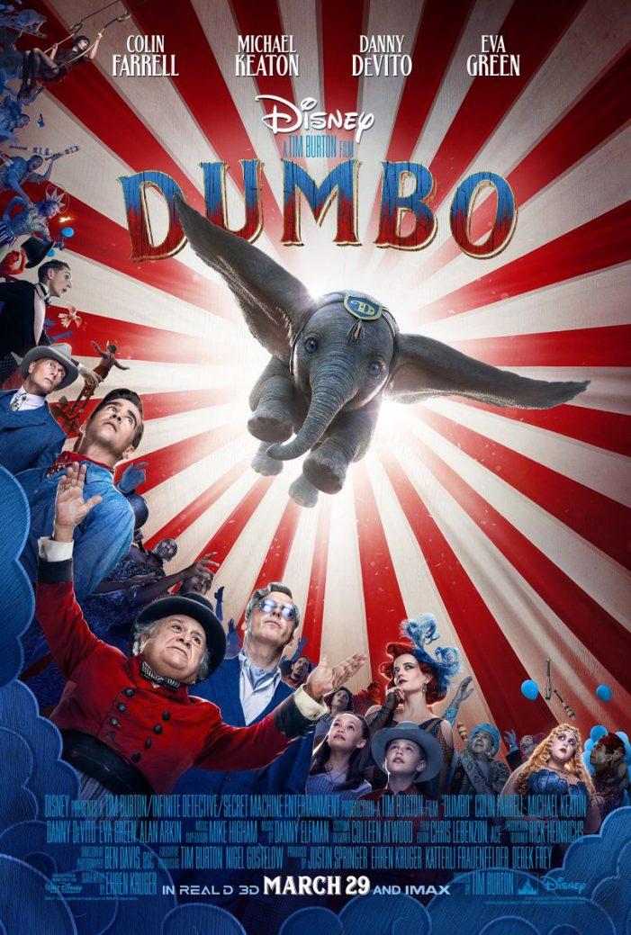 La nueva imagen de Dumbo