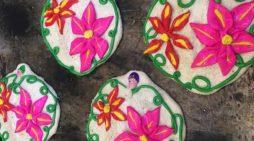Pan de Muerto bordado de Oaxaca
